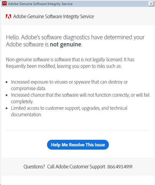 can i disable adobe genuine software integrity service mac