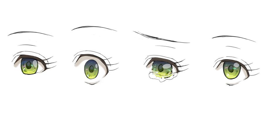 目のイラストを上手に描く方法 Adobe