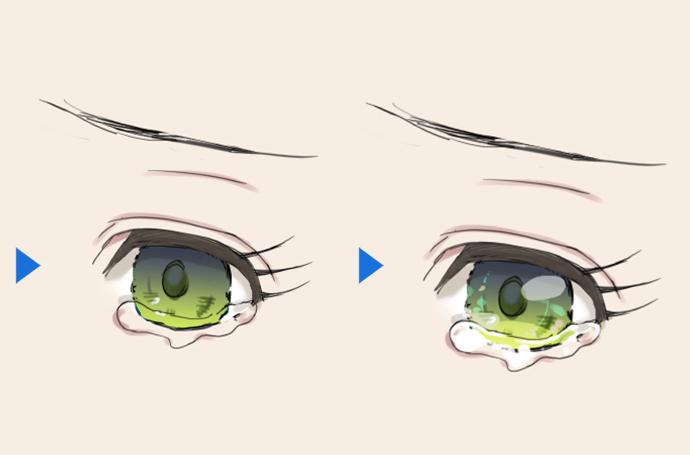 イラスト 目 の 描き 方