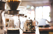 Coffee brewing in a coffee shop - Shallow depth of field tips | Adobe