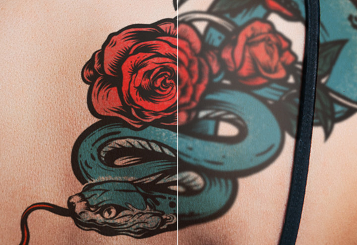 Make a Tattoo Composite in Photoshop | Adobe