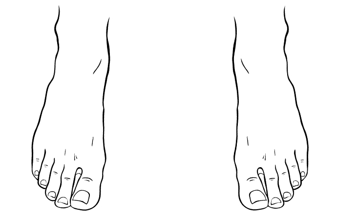 How To Draw Feet For Beginners Adobe