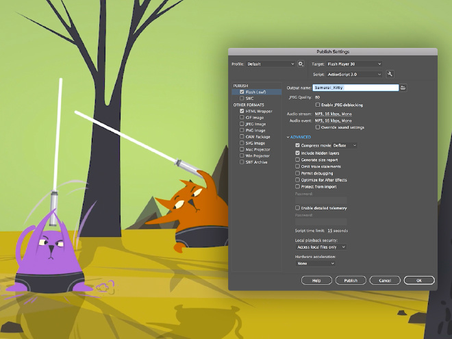 Adobe Animate for Mac 3