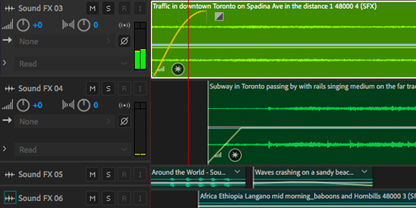 Easily locate your favorite sound effects in Adobe Audition