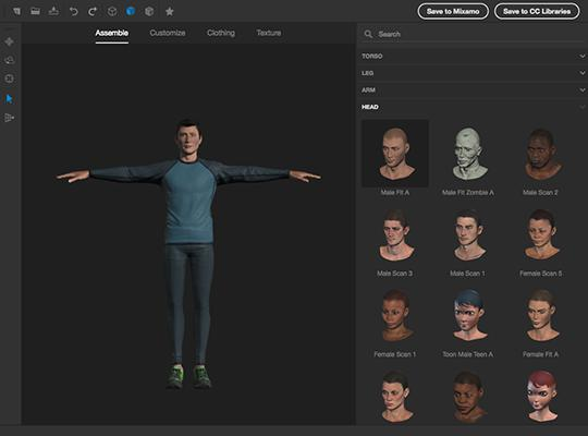 create your own 3d character free online
