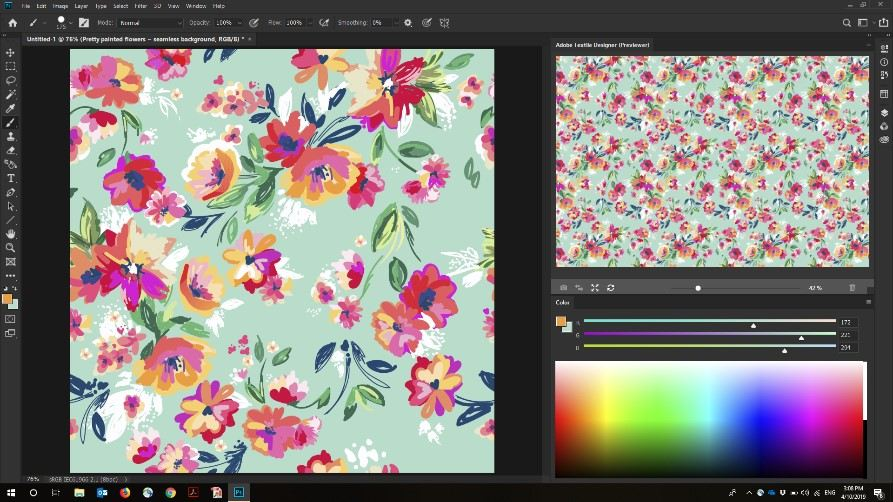 Adobe Textile Designer Beta Program