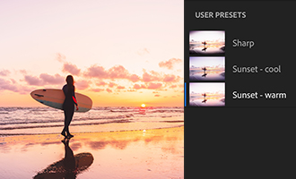 Sync your presets and profiles.