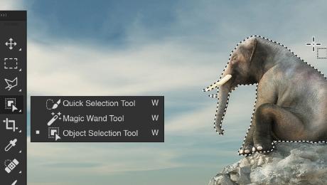 Adobe Photoshop Selection Tools