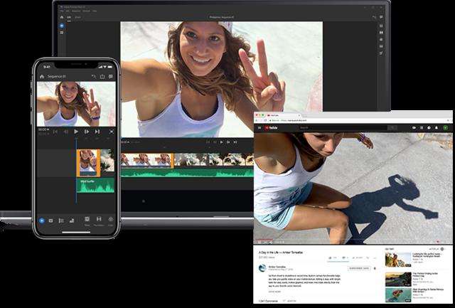 Adobe Premiere Rush | Adobe video editing software, mobile and desktop