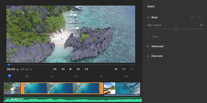 Video editor for Youtube, social | Adobe Premiere Rush
