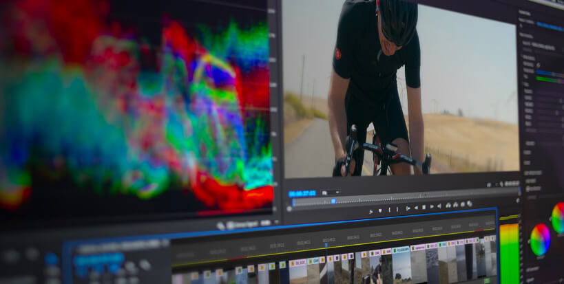 video editing with special effects skills