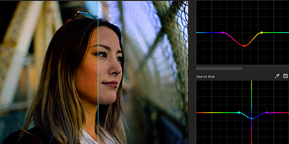 Precise and simple color grading.