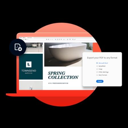 Simple PDF editor | Adobe Acrobat PDF Pack