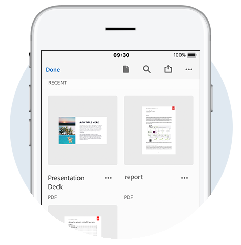 Acrobat mobile app, PDF reader for iPad, iPhone, Android | Adobe