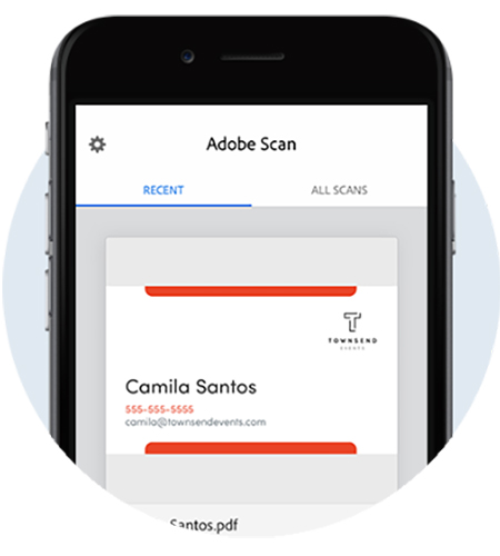 Adobe Scan app, scan documents to pdf | Adobe Document Cloud