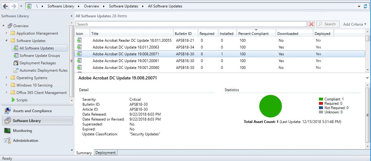 SCCM-SCUP — DC Windows Desktop Deployment
