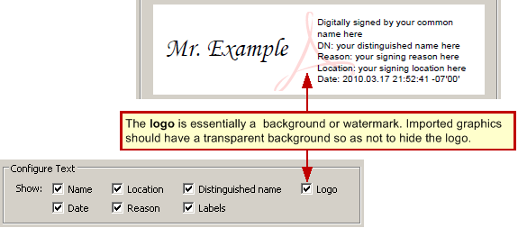 Custom signature appearances digital signatures guide for it imagesdigsignewappearancelogog yadclub Images