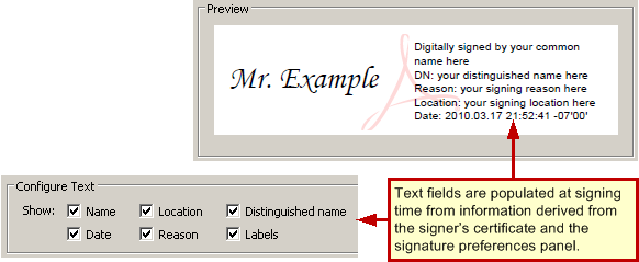 Custom signature appearances digital signatures guide for it imagesdigsignewappearancetextfieldsg yadclub Images