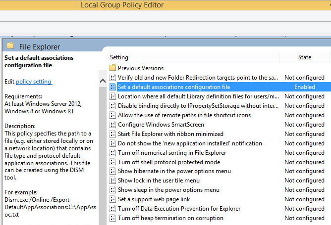 Setting the Default PDF Viewer — Legacy Administration Guide