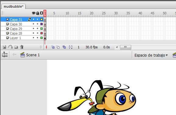 Línea de tiempo, fotogramas clave y velocidad de fotogramas en Adobe ...