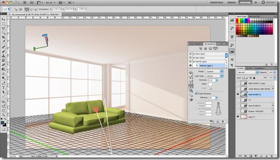 inspire magazine september 2011 learn to create a 3d scene in