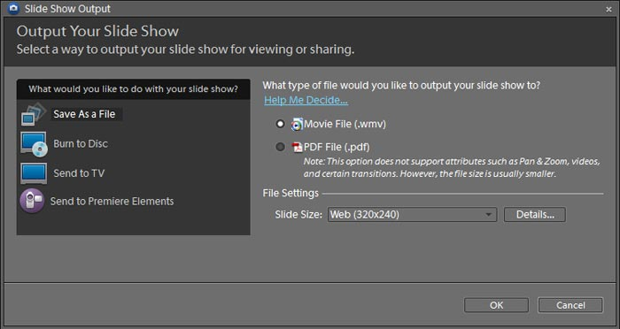 Photoshop Elements 8: How to create and share a slide show ...